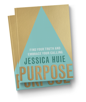 Jessica Huie // Purpose book